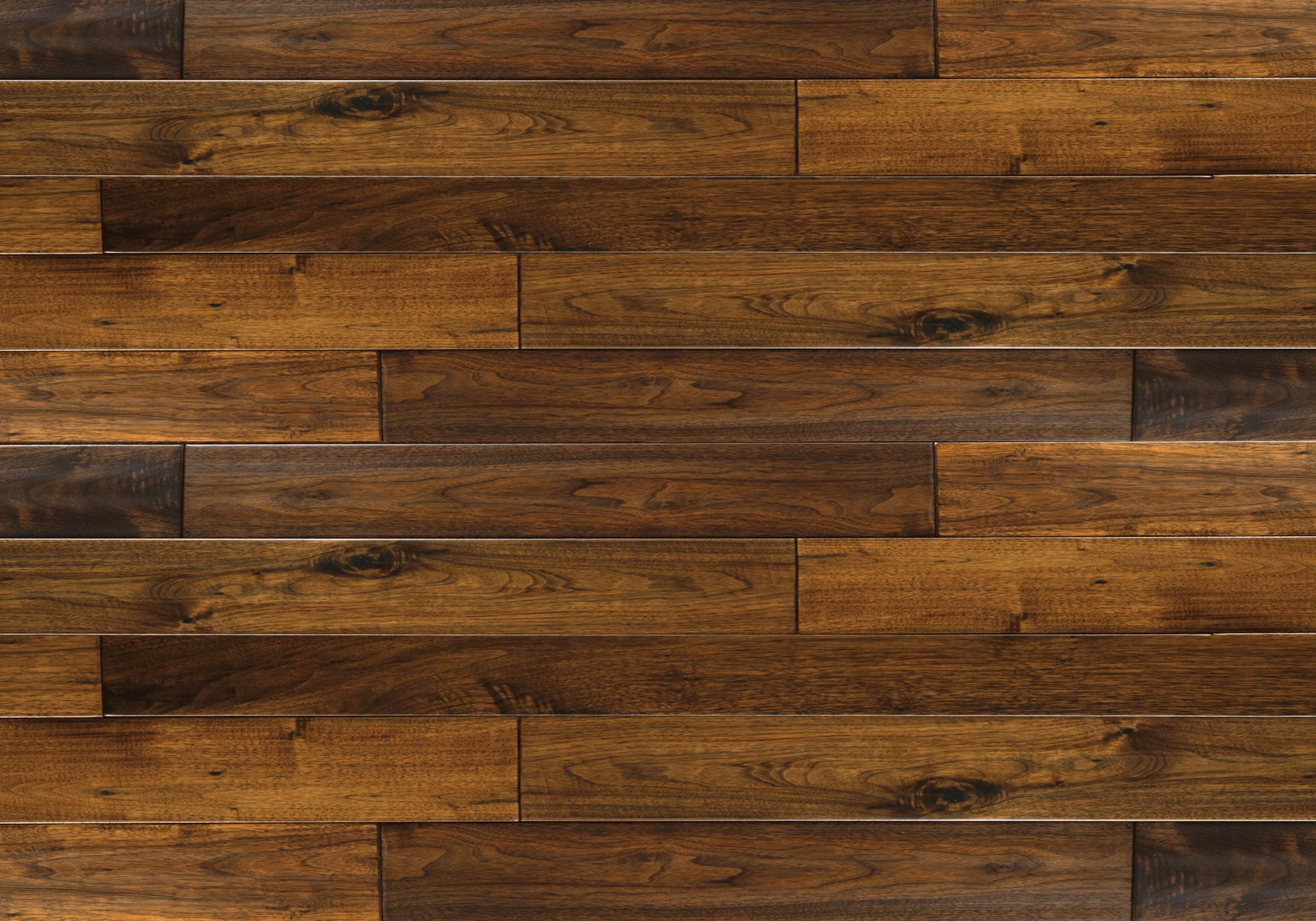Tobacco brown designer black walnut lauzon hardwood for Black hardwood flooring
