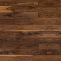 Black Walnut Hardwood Flooring Dark Brown Natural Exclusive Ambiance Lauzon