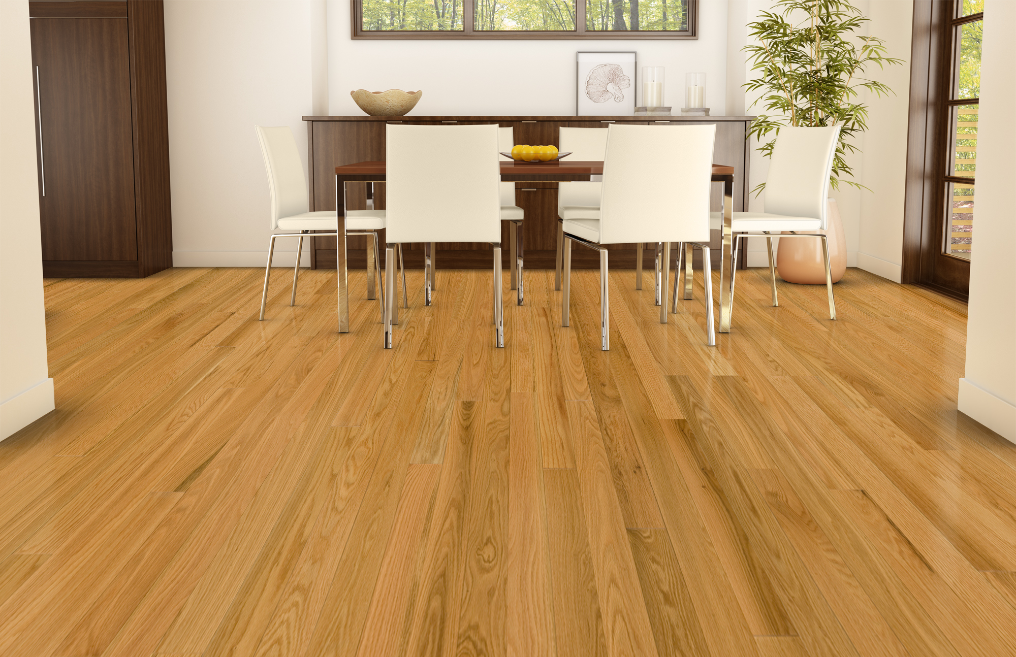 Natural, Ambiance, Red Oak, Pacific - Lauzon Hardwood Flooring