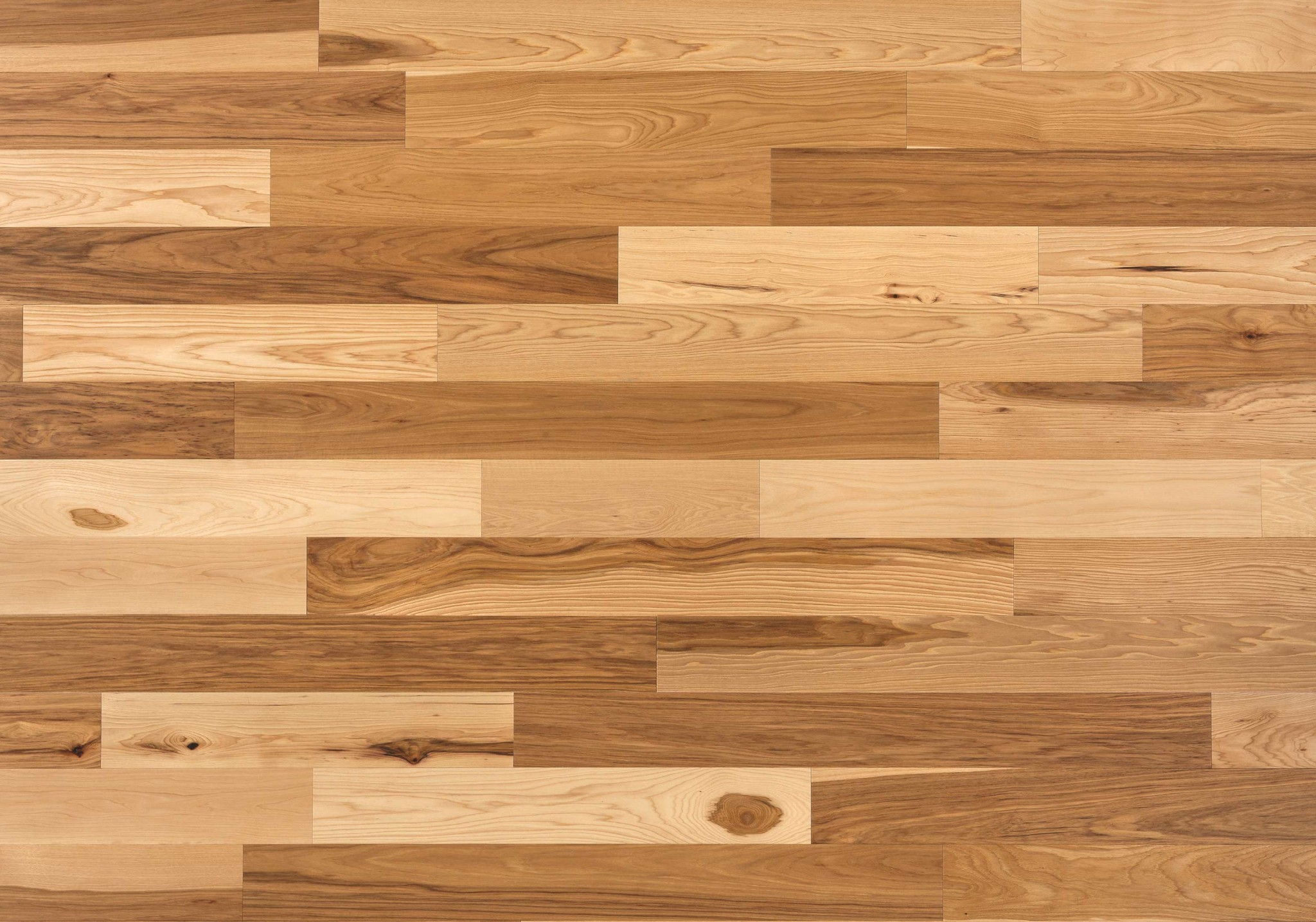 Natural ambiance hickory country lauzon hardwood flooring for Hardwood floors hickory