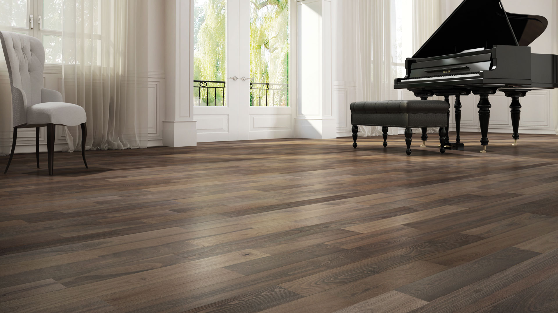 Latest 3 hardwood flooring trends lauzon flooring for Latest floor tile trends
