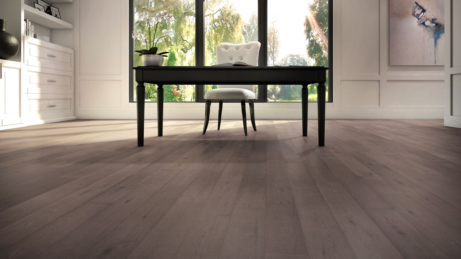 lauzon flooring hardwood blog art from nature grey wire brushed office