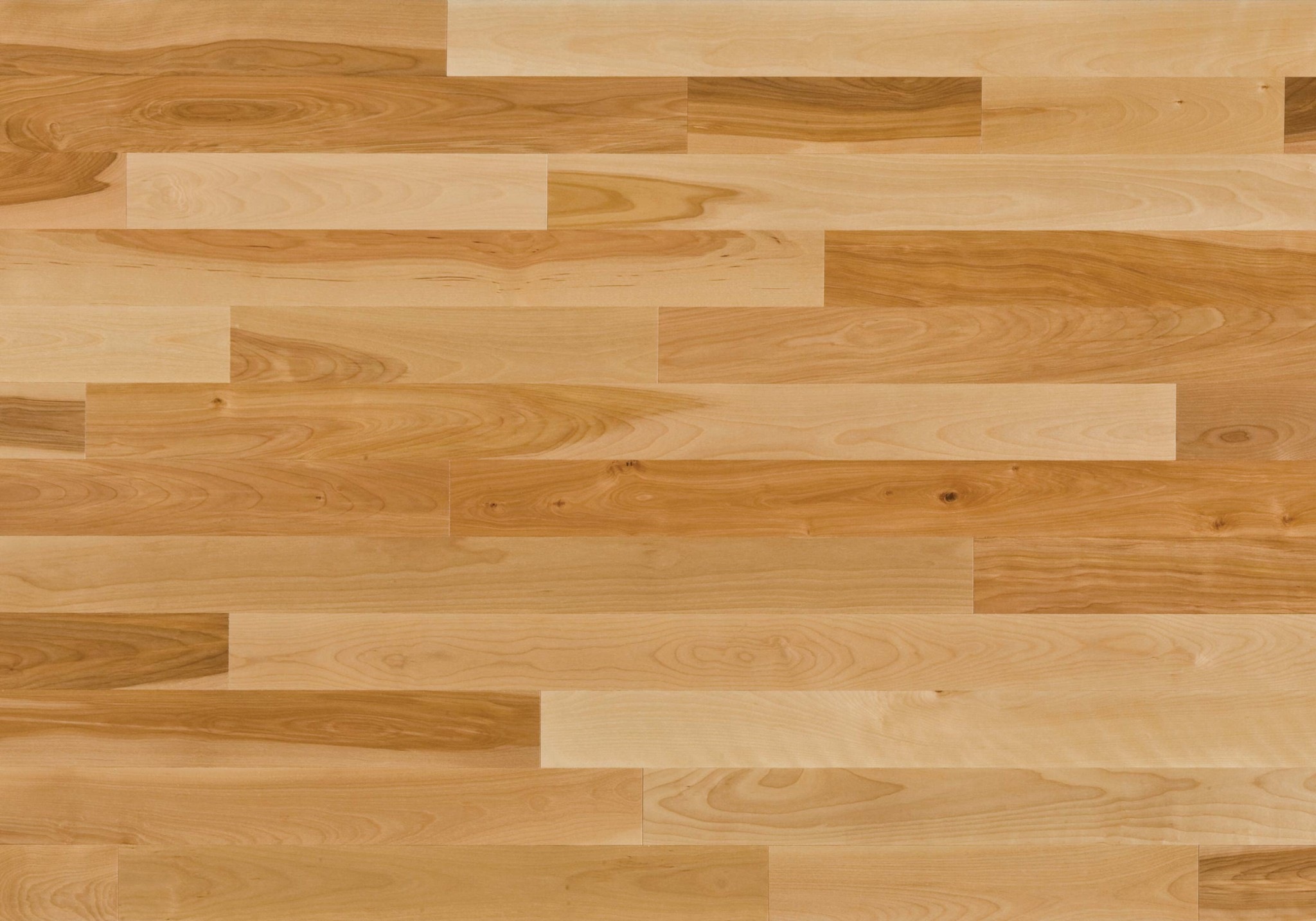 Natural ambiance yellow birch heritage lauzon for Floating hardwood floor