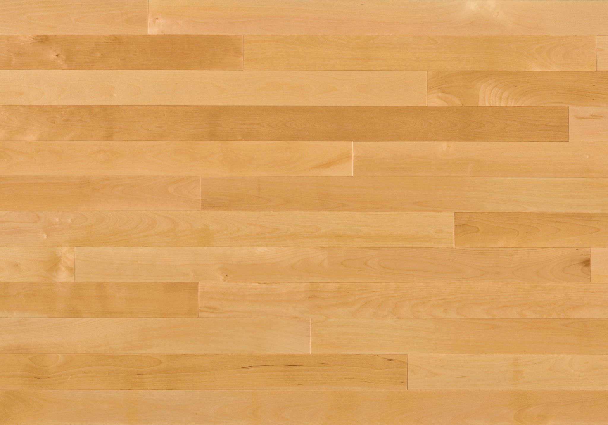 Natural ambiance yellow birch select better lauzon for Birch hardwood flooring