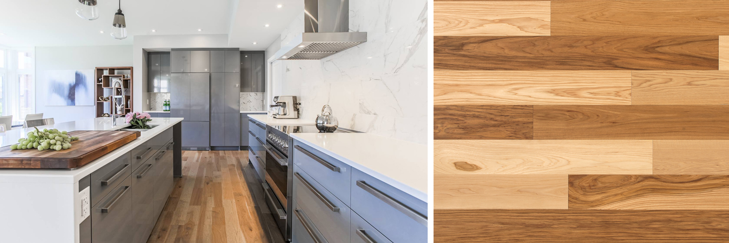 Choosing the best kitchen wood floor for your home | Lauzon Flooring